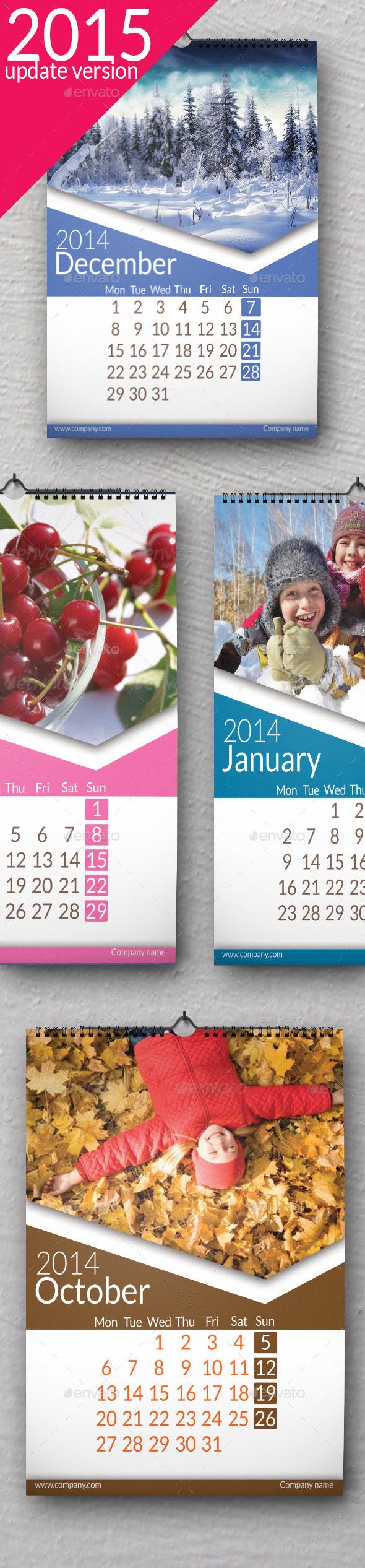 Wall Calendar 2015 Ultra