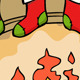 Fireplace in Christmas - GraphicRiver Item for Sale