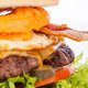 Delicious egg and bacon cheeseburger - PhotoDune Item for Sale