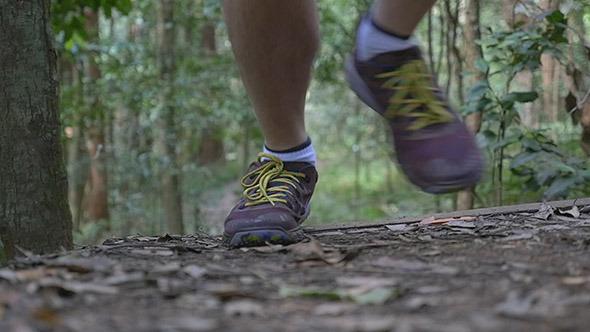 VideoHive Man Trail Running 9753919