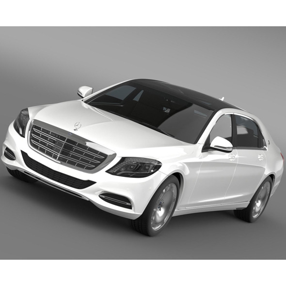 3DOcean Mercedes Maybach S400 X222 2015 9753943