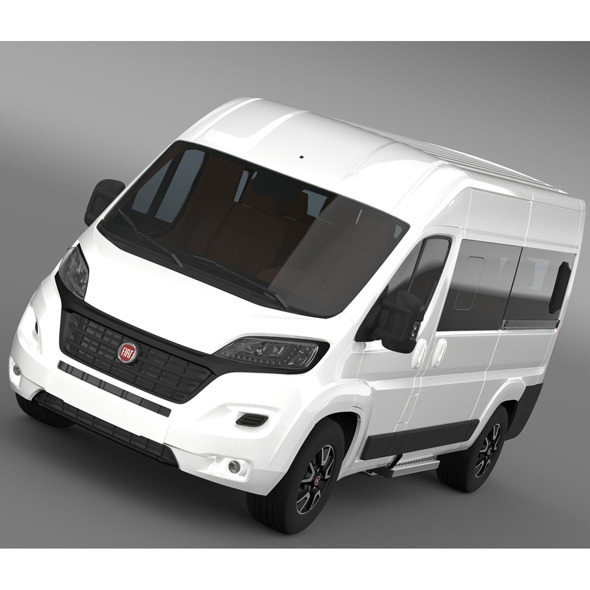 Fiat Ducato Panorama 2015 - 3DOcean Item for Sale