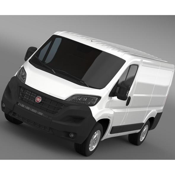3DOcean Fiat Ducato Van L1H1 2014 9754052