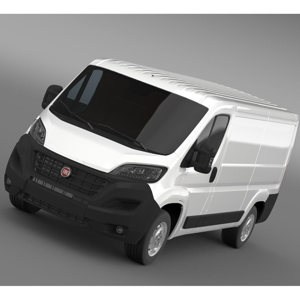 Fiat Ducato Van L2H1 2015 - 3DOcean Item for Sale