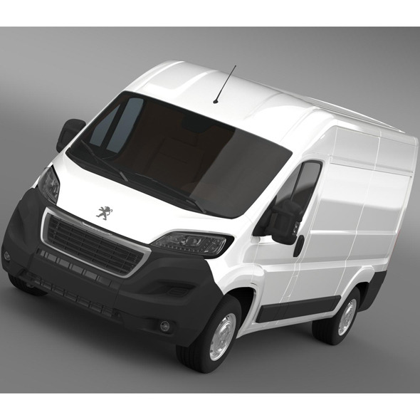 Peugeot Boxer Van L2H2 2014 - 3DOcean Item for Sale