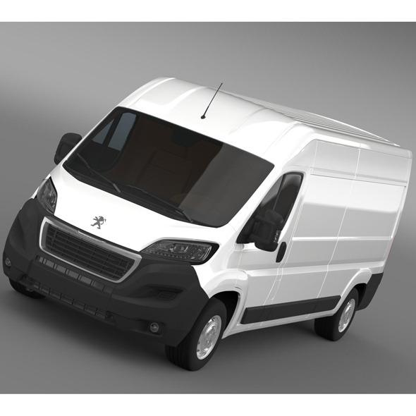 3DOcean Peugeot Boxer Van L3H2 2014 9754256
