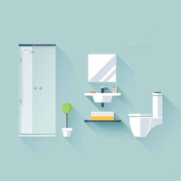 GraphicRiver Bathroom 9754468