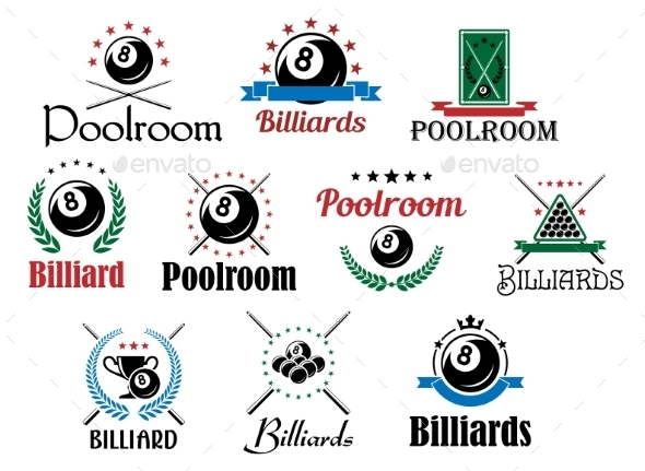 Billiard Emblems