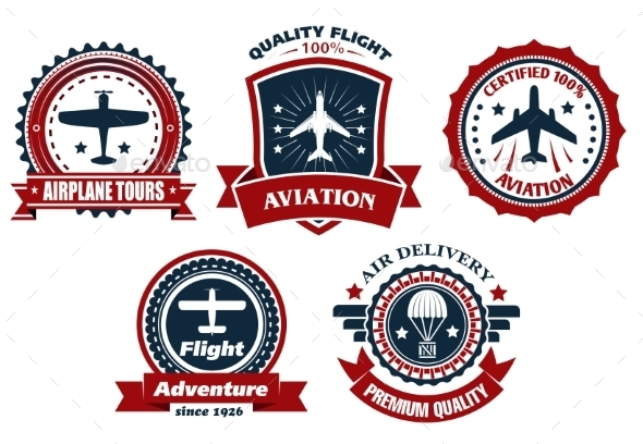 GraphicRiver Aircraft and Aviation Banners 9754519