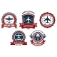 Aircraft and Aviation Banners - GraphicRiver Item for Sale