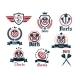 Darts Sporting Emblems - GraphicRiver Item for Sale