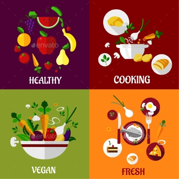 GraphicRiver Healthy Food 9754527