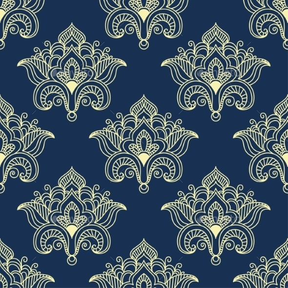 GraphicRiver Paisley Pattern 9754534