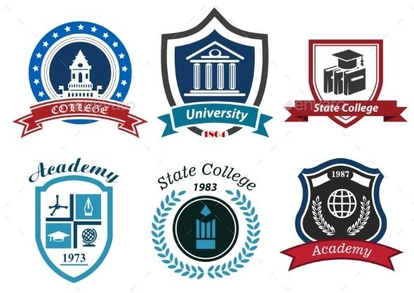 GraphicRiver Academy Emblems 9754952