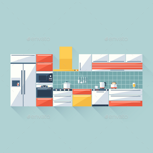 GraphicRiver Kitchen 9714821