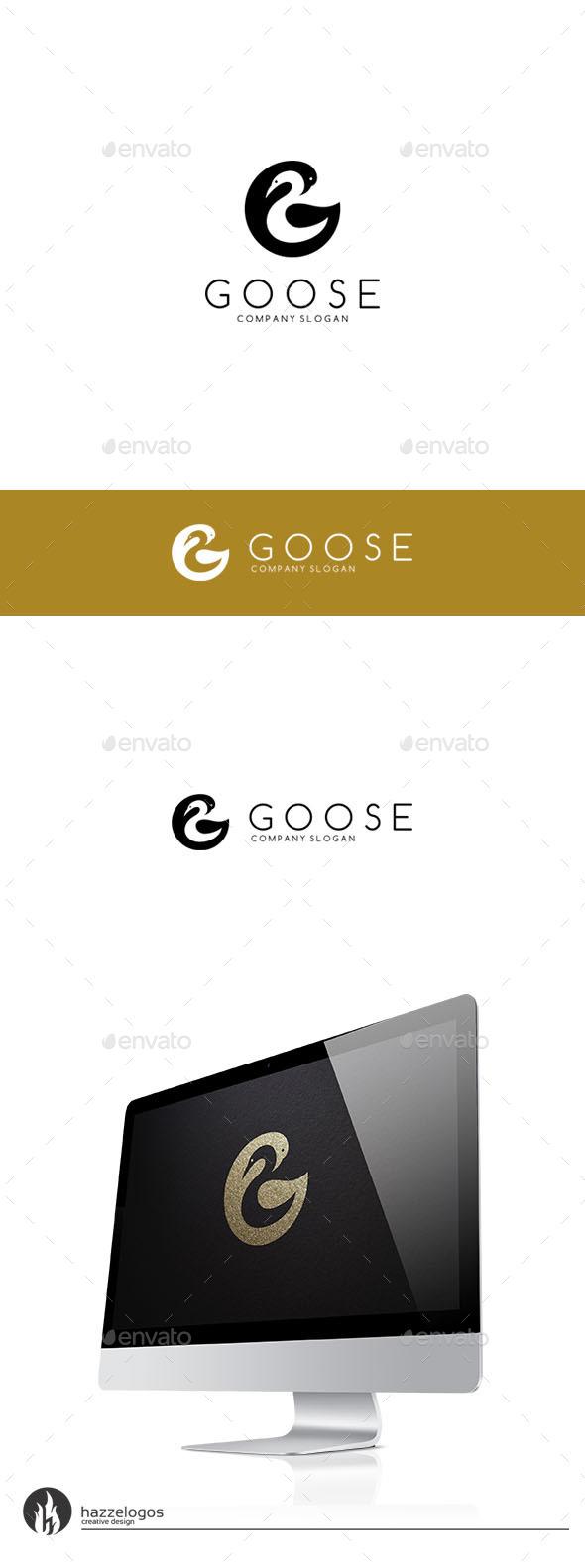 GraphicRiver Goose Logo 9754991