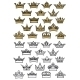 Royal Crowns Heraldic - GraphicRiver Item for Sale