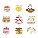 Bakery Emblems - GraphicRiver Item for Sale