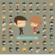 Set of 50 Business Men and Women - GraphicRiver Item for Sale
