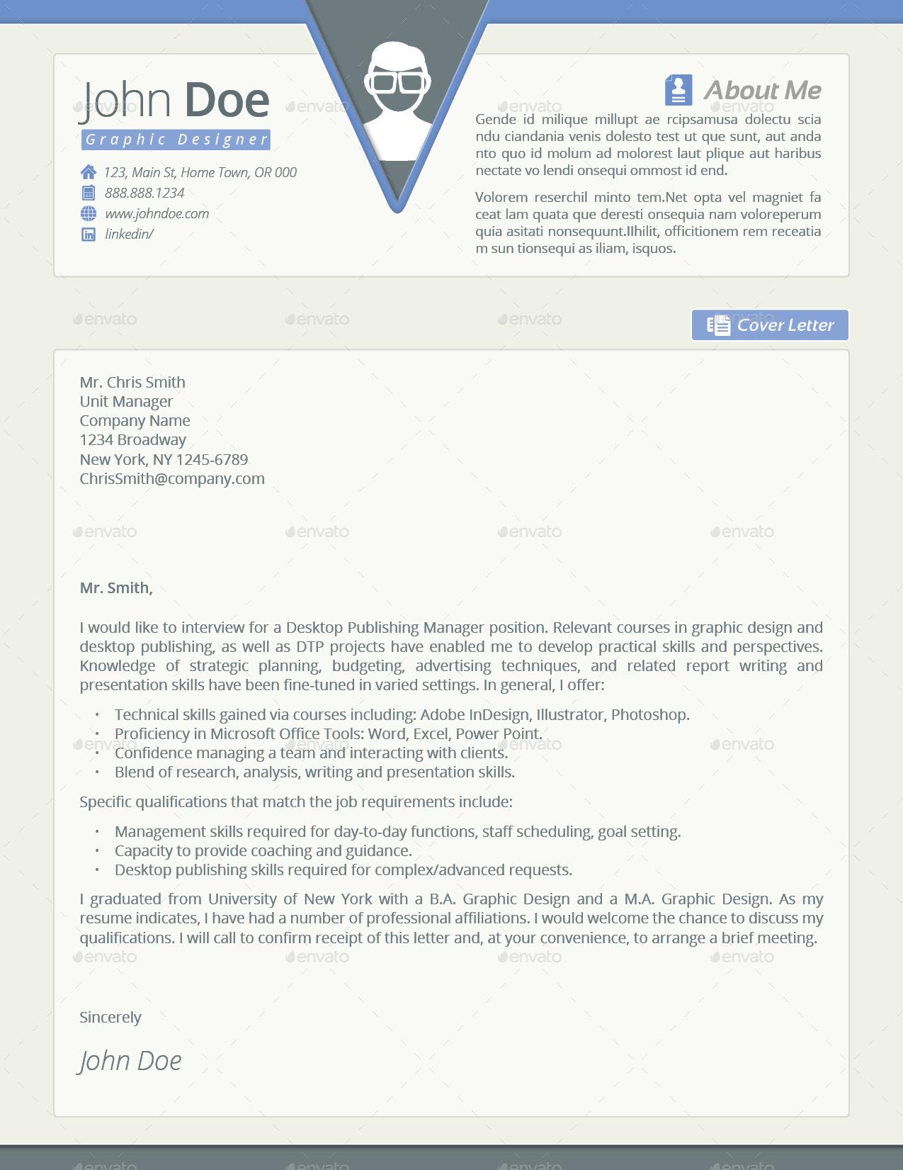 resume cover letter maintenance technician resume