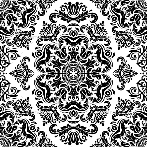 GraphicRiver Orient Seamless Vector Pattern Abstract Backgroun 9755331