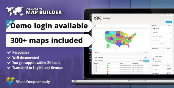 Interactive Map Builder for WordPress