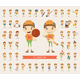 Set of Boy Character Collection - GraphicRiver Item for Sale