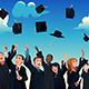 Students  Celebrating their Graduation - GraphicRiver Item for Sale