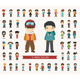 Set of Winter Collection Character - GraphicRiver Item for Sale