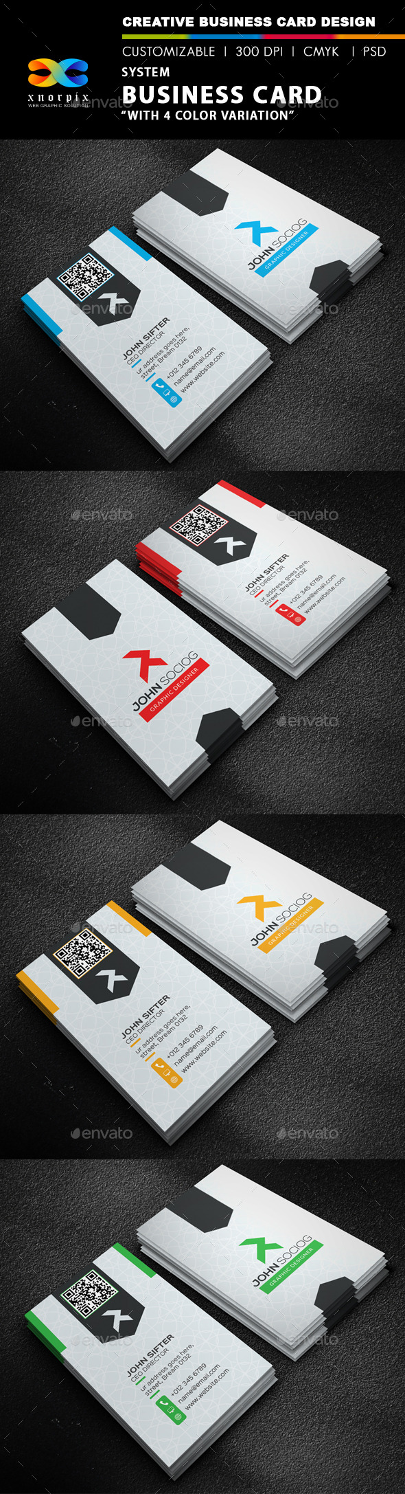 GraphicRiver Personal Business Card 9755699