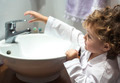 Little girl washing her face - PhotoDune Item for Sale
