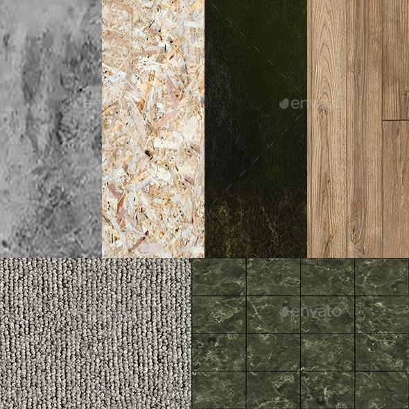 3DOcean Texture Bundle 9723975