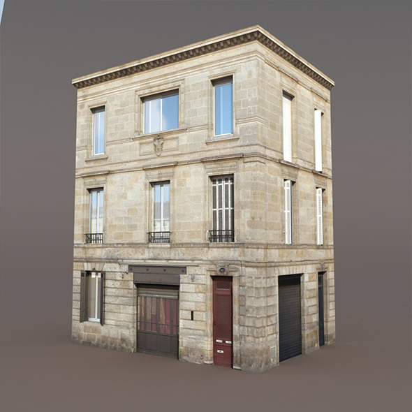 Apartment House #85 Low poly Models - 3DOcean Item for Sale