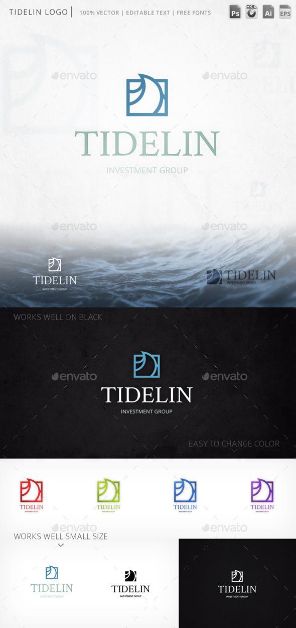 GraphicRiver Tidelin Logo 9759684