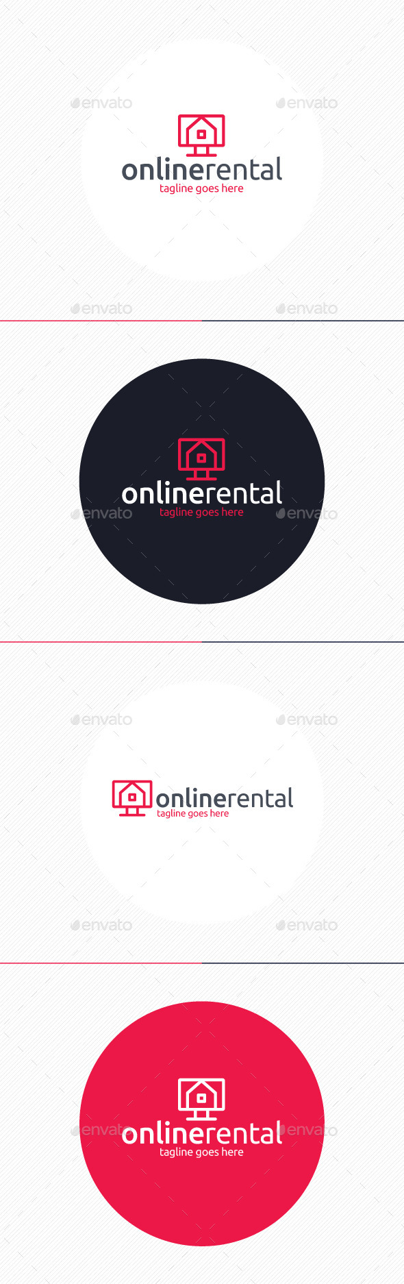 GraphicRiver Online Rental Logo 9760197