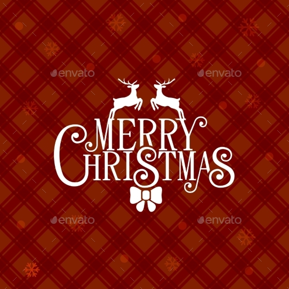 GraphicRiver Red Christmas Greeting Card Background 9761873