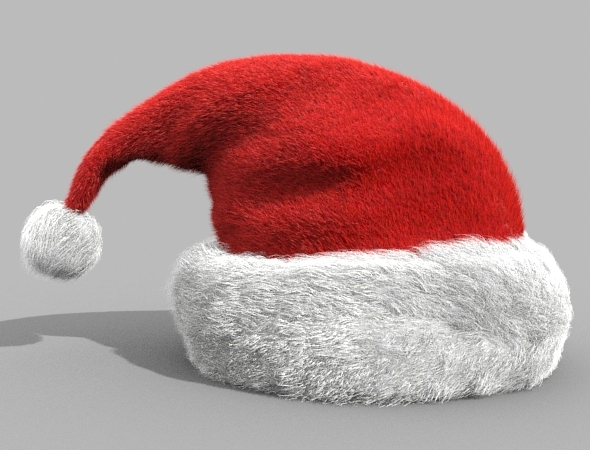 Santa Hat - 3DOcean Item for Sale