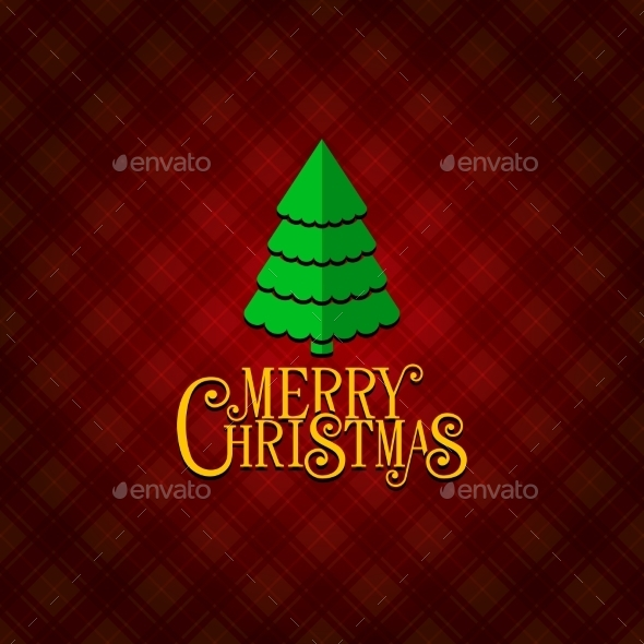 GraphicRiver Red Christmas Greeting Card Background 9764032