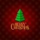 Red Christmas Greeting Card Background - GraphicRiver Item for Sale