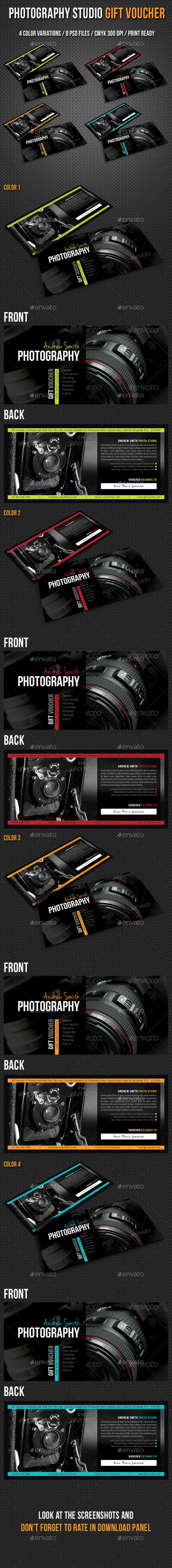 GraphicRiver Photography Studio Gift Voucher 03 9764088