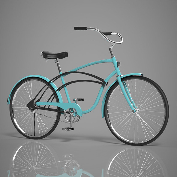 3DOcean Bicycle 9764266