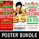 Christmas & New Year Poster Bundle - GraphicRiver Item for Sale