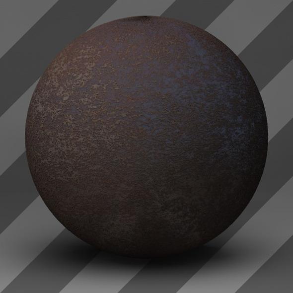3DOcean Rusty Metal Shader 003 9764400