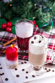 Christmas Coffee with Whipped Cream - PhotoDune Item for Sale