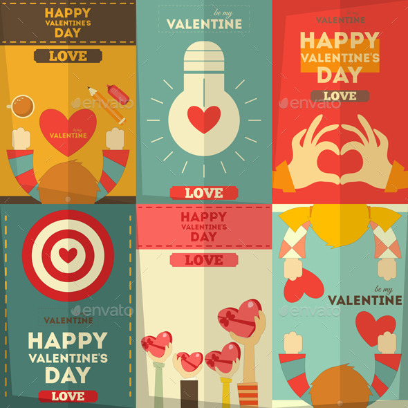 GraphicRiver Valentines Day 9764746