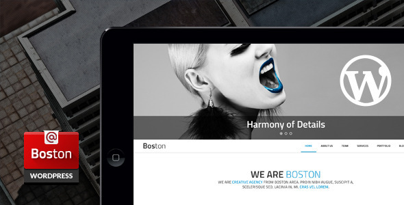 Download Boston - Corporate Parallax WordPress Theme nulled download