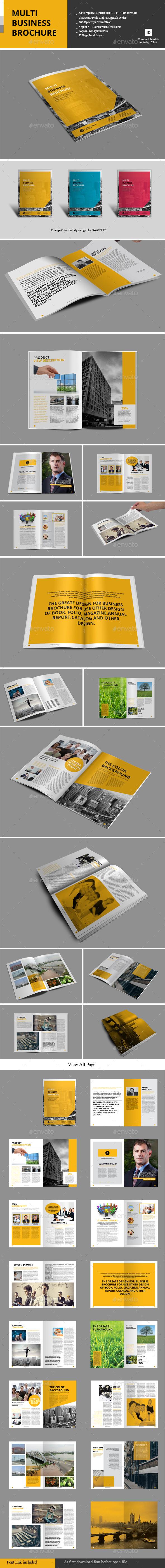 GraphicRiver Multi Business Brochure 9765037