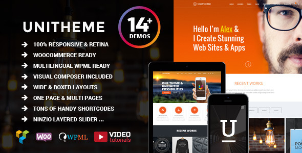 UniTheme - Responsive Multi Purpose Theme