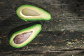 Avocado on wood - PhotoDune Item for Sale
