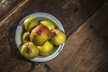 Apples in vintage metal cup - PhotoDune Item for Sale